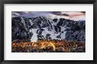 Framed Aspen Overlook