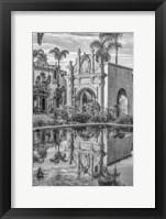 Framed Ornate Reflection