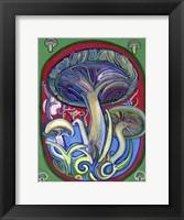 Framed Mushroom Patch