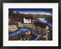 Framed Charles Mill