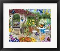 Framed Butterfly Garden