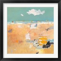 Framed Beach with Sails