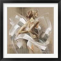 Framed White Dress I