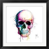 Framed Angel's Skull