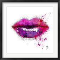 Framed Color of Kiss