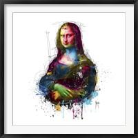 Framed Da Vinci Pop