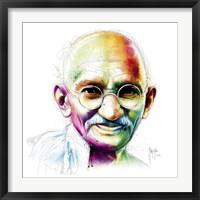 Framed Gandhi - I Am Love