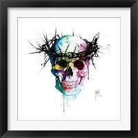Framed Jesus' Skull