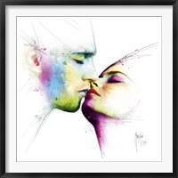 Framed Le baiser