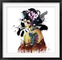 Framed Memoirs of a Geisha