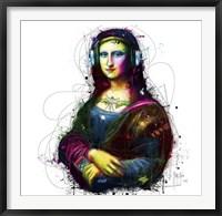 Framed Mona Lisa's Song