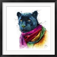 Framed Panther