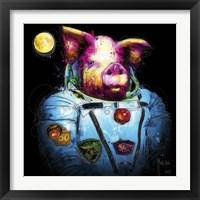 Framed Pig in Space