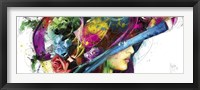 Framed Romantic Flowers I