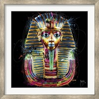 Framed Tutanchamun