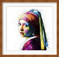 Framed Vermeer Pop