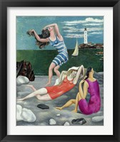 Framed Bathers, 1918 (Las Banistas)