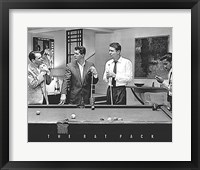 Framed Rat Pack Pool