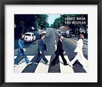 Framed Beatles Abbey Road