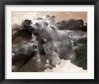 Framed Brown Bear Creek