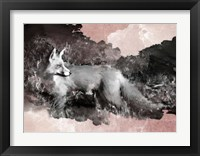 Framed Fleeting Fox