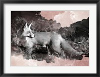 Framed Fleeting Fox