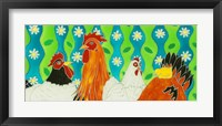 Framed Chickens