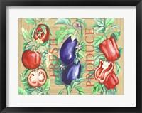 Framed Fresh Produce