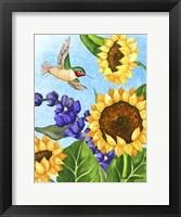 Framed Hummingbird Heaven