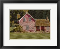 Framed Abandoned Farmhouse
