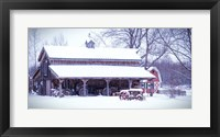 Framed Cozy and Warm Blanket of Snow