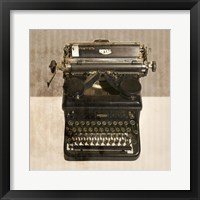 Framed Typewriter 02 Royal