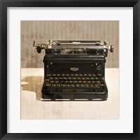 Framed Typewriter 03 Royal