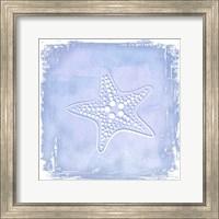 Framed Blue Sealife 1