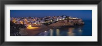 Framed Dusk at Carvoeiro - Panorama