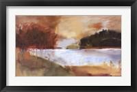 Framed Autumn Lake