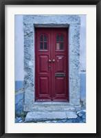 Framed Lisbon Door 2