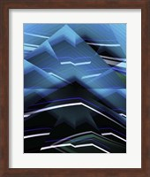 Framed Blue Mountain