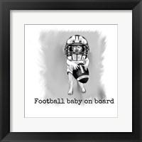 Framed Football Baby 1