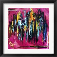 Framed Abstract Amalgam 1