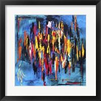 Framed Abstract Amalgam 2