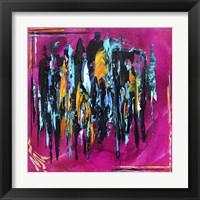 Framed Abstract Amalgam 3