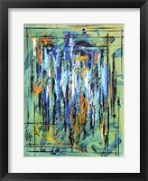 Framed Abstract Lightning
