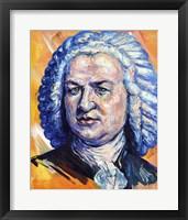 Framed Johann Sebastian Bach