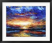 Framed Majestic Sunset