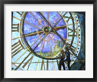 Framed Orsay Clock