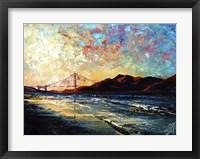 Framed San Francisco Golden Gate Bridge
