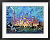 Framed View with London Eye