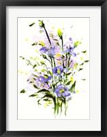 Framed Purple Blooming
