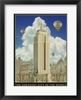 Framed New York Day